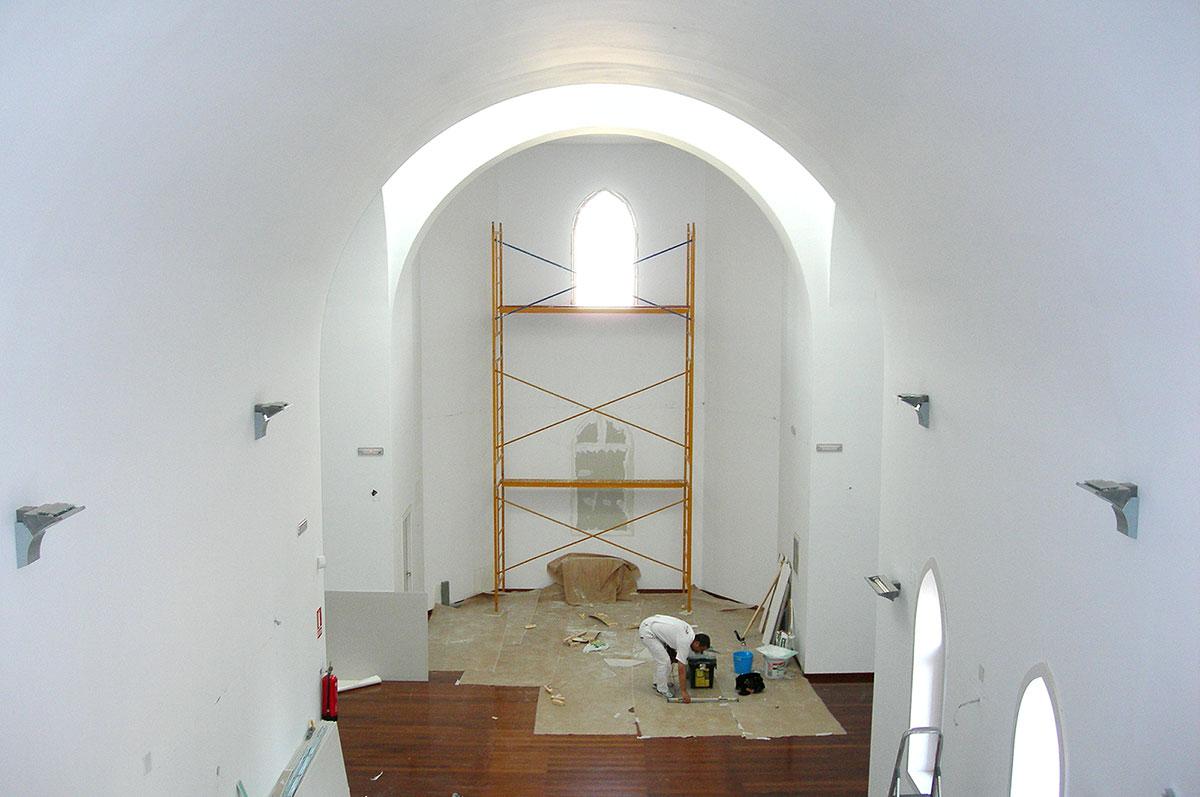 Trasdosados y techo de pladur en Convento de La Alfranca Zaragoza