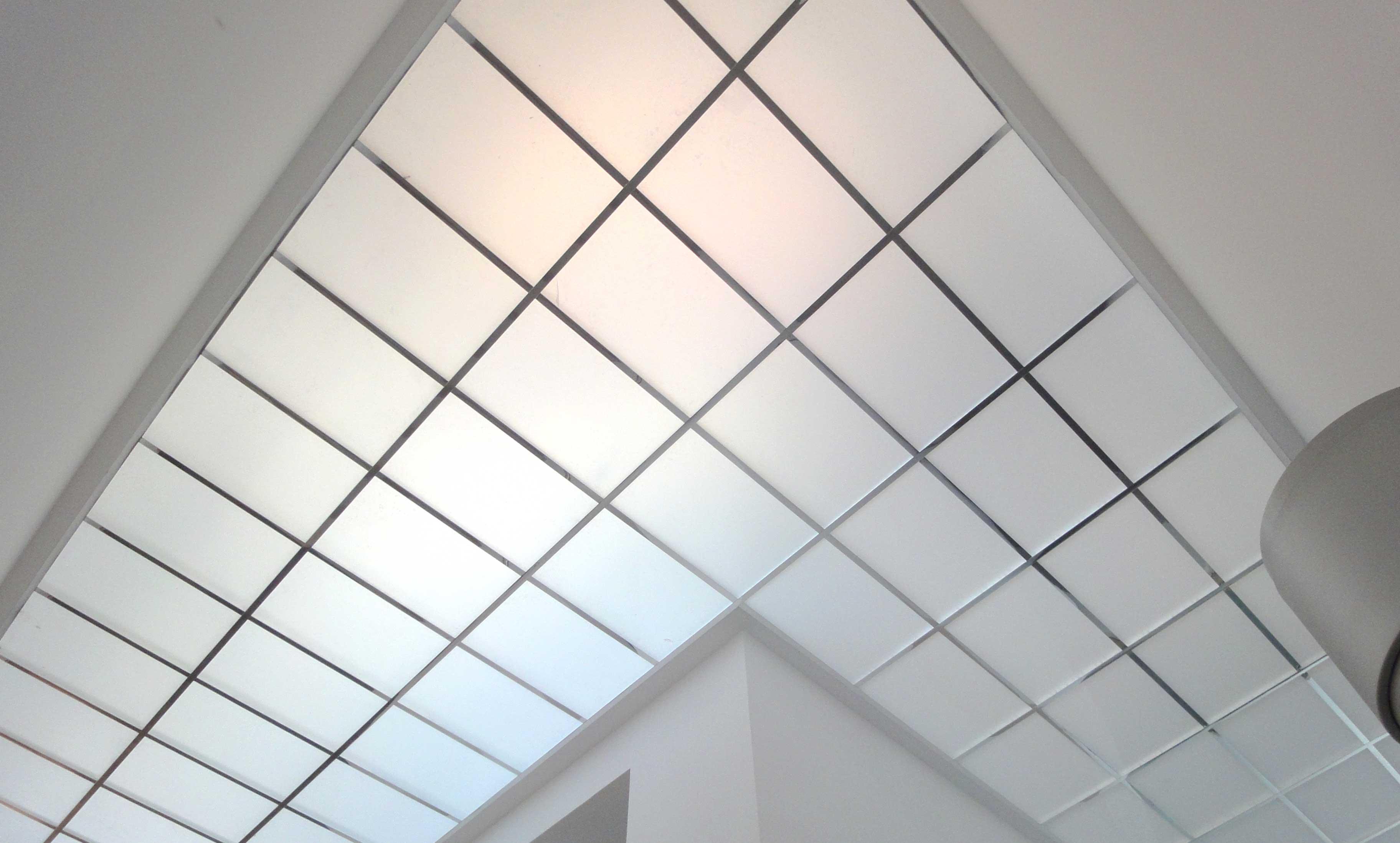 tabiques y falsos techos en escalera